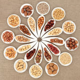 Nut Selection Stock Image