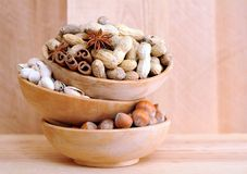 Nut in shell Stock Photography