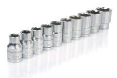 Nut wrench set Stock Image