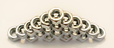 Nut zinc Royalty Free Stock Image