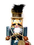 Nutcracker. A traditional nutcracker soldier playing drums Royalty Free Stock Photography