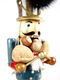 Nutcracker. In uniform with lots different nuts Stock Photos