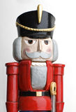 Nutcracker. Isolated on white background with red jacket Royalty Free Stock Photos