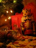 Nutcracker. Under the Christmas tree Royalty Free Stock Image