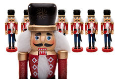Nutcracker Army Royalty Free Stock Photos