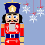 Nutcracker background Stock Photos
