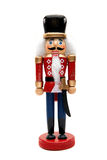 Nutcracker do Natal fotografia de stock