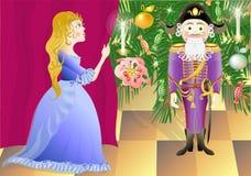 Nutcracker e princesa Mari Imagem de Stock