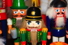 Nutcracker figures Stock Photography