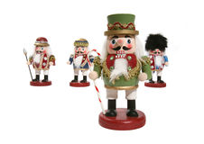Nutcracker Figurines Stock Photography