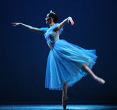 The Nutcracker-fragments. BEIJING-MAY 8: A dancer of the Czech National Theater ballet troupe performs The Nutcracker-fragments at Mei Lanfang Theatre on May 8 royalty free stock image