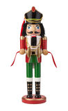 Nutcracker Isolated with clipping path. On a white background Stock Images