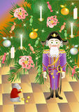 Nutcracker and King of mice (vector) Stock Photos
