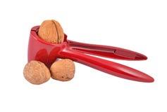 Nutcracker and nut Stock Photos