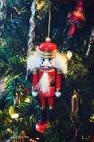 Nutcracker Ornament Stock Image