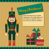 Nutcracker paper application Stock Images