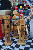 Nutcracker puppets and other marionettes Stock Photo