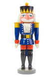 Nutcracker Soldier. Christmas Nutcracker Soldier isolated on white royalty free stock photo
