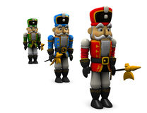 Nutcracker statue. Royalty Free Stock Images