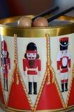 Nutcracker Tin Drum Stock Images