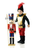 Nutcracker Toddler Royalty Free Stock Image