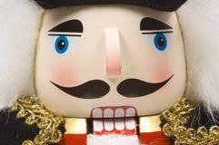 Nutcracker- van Kerstmis close-up stock afbeelding