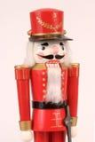 Nutcracker vermelho do Natal Fotografia de Stock