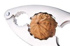 Nutcracker with walnut Royalty Free Stock Image
