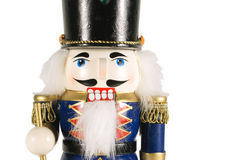 Nutcracker on white Stock Image