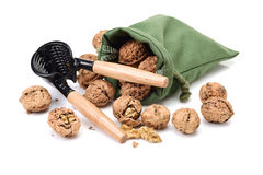 Nutcracker With Walnut Royalty Free Stock Photos