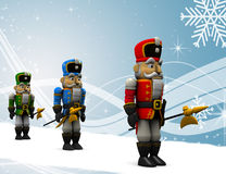 Nutcrackers. Royalty Free Stock Images
