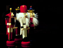 Nutcrackers do Natal Foto de Stock Royalty Free