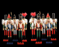 Nutcrackers Galore Royalty Free Stock Photography