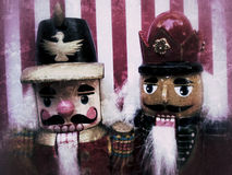 Nutcrackers grunge Royalty Free Stock Photo