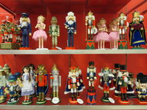Nutcrackers in the mall Stock Image