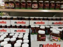 Nutella Fotografia Stock Libera da Diritti