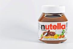 Nutella Fotografia de Stock