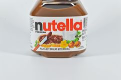 Nutella Foto de Stock Royalty Free