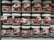 Nutella Fotografia Royalty Free