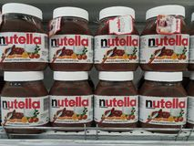 Nutella Foto de Stock