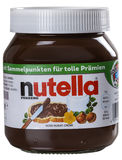 Nutella chocolate spread Stock Photos