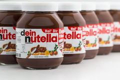 Nutella Hazelnut Spread Royalty Free Stock Images
