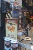 Nutella Kebab. In a shop window, Amsterdam Stock Photos