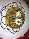 Nutella-waffels Lizenzfreie Stockbilder