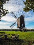 NUTLEY SUSSEX/UK EST - 31 OCTOBRE : Vue de moulin à vent de Nutley dedans image libre de droits