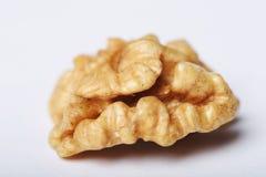 Nutmeat połówka Obrazy Royalty Free