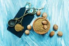 nutmeg Imagem de Stock Royalty Free