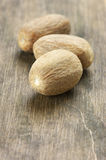 Nutmeg close-up Stock Photography