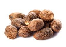 Nutmeg isolated Royalty Free Stock Image