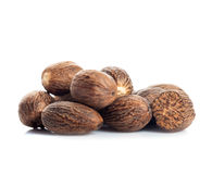 Nutmeg isolated Royalty Free Stock Photo
